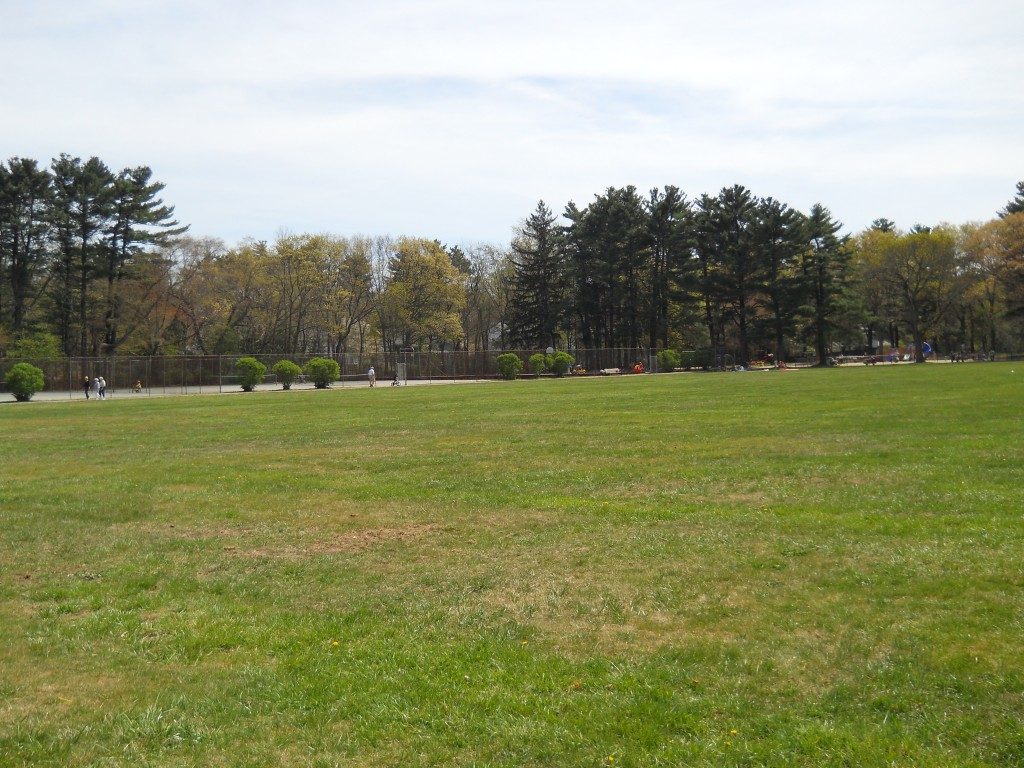 Tennis and Basketball courts at Francis William Bird Park in Walpole, MA.