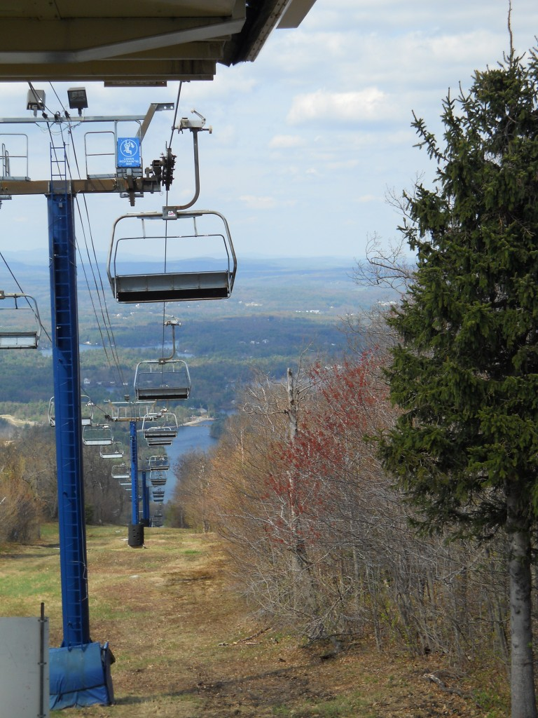 View from the summit of Wachusett Mountain Ski Area