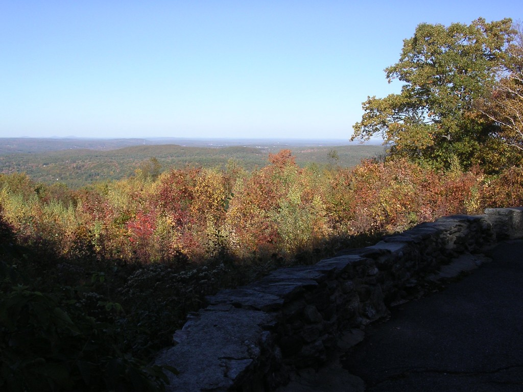 View from the Harlow Overlook at Wachusett Mountain
