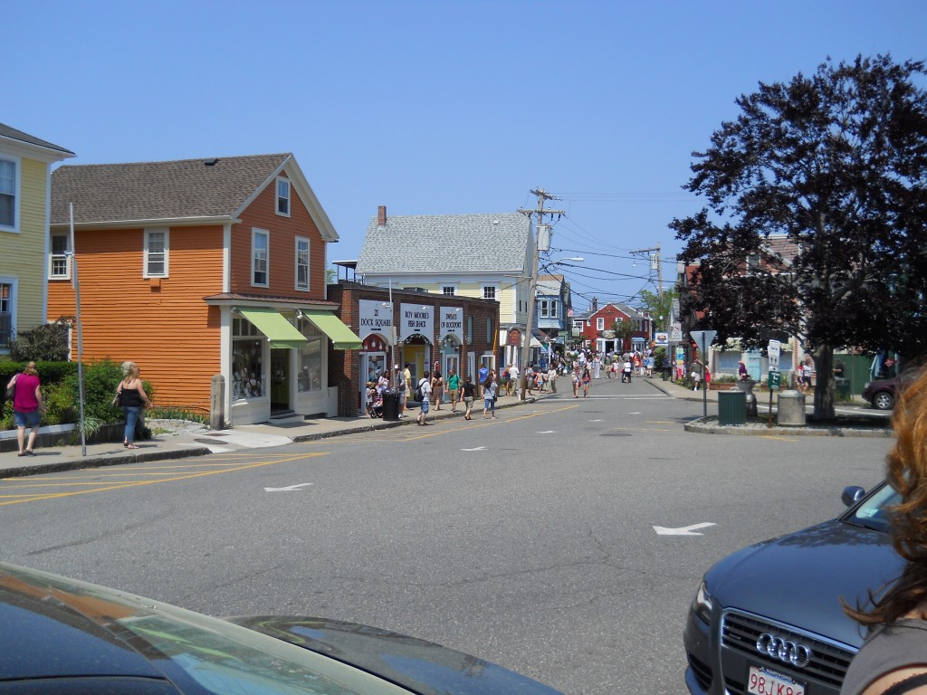 Bearskin Neck - Downtown Rockport, MA