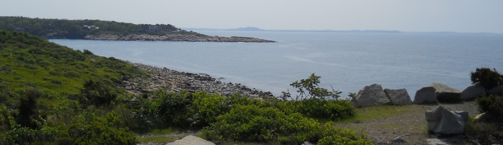 Scenic overlook view at Halibut Point State Park