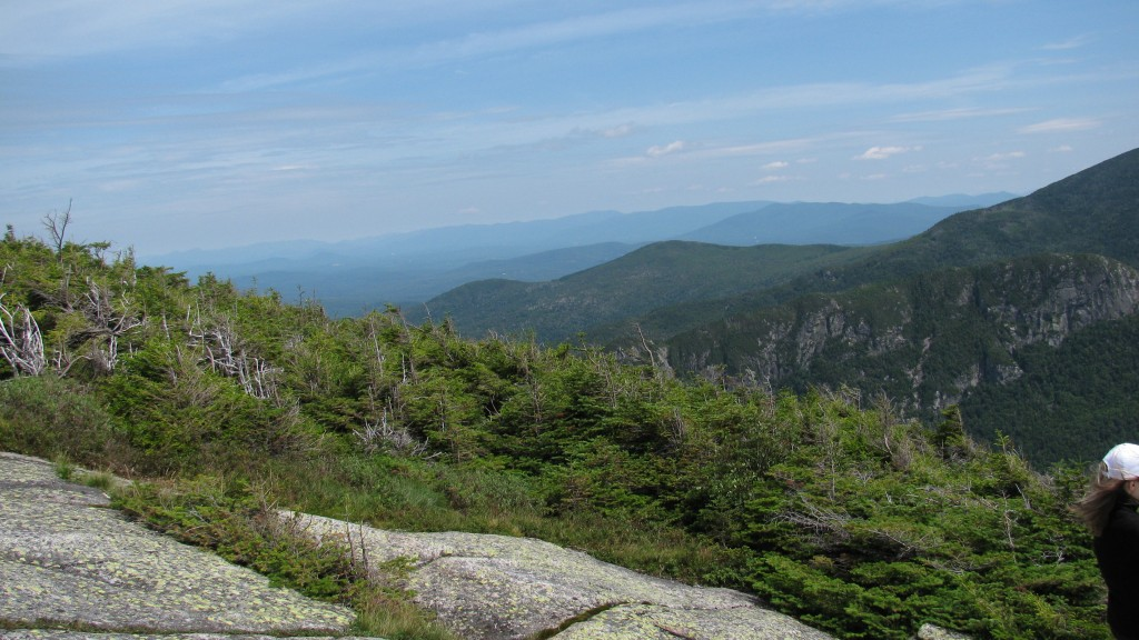 White Mountain view from Cannon Mountain.