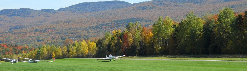 Fall View at Sugarbush Airport in Warren, VT