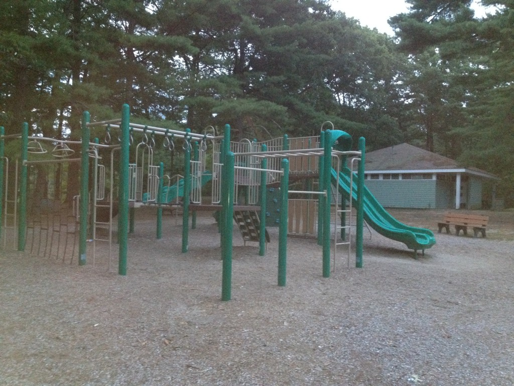 Playground area at Watson Pond State Park.