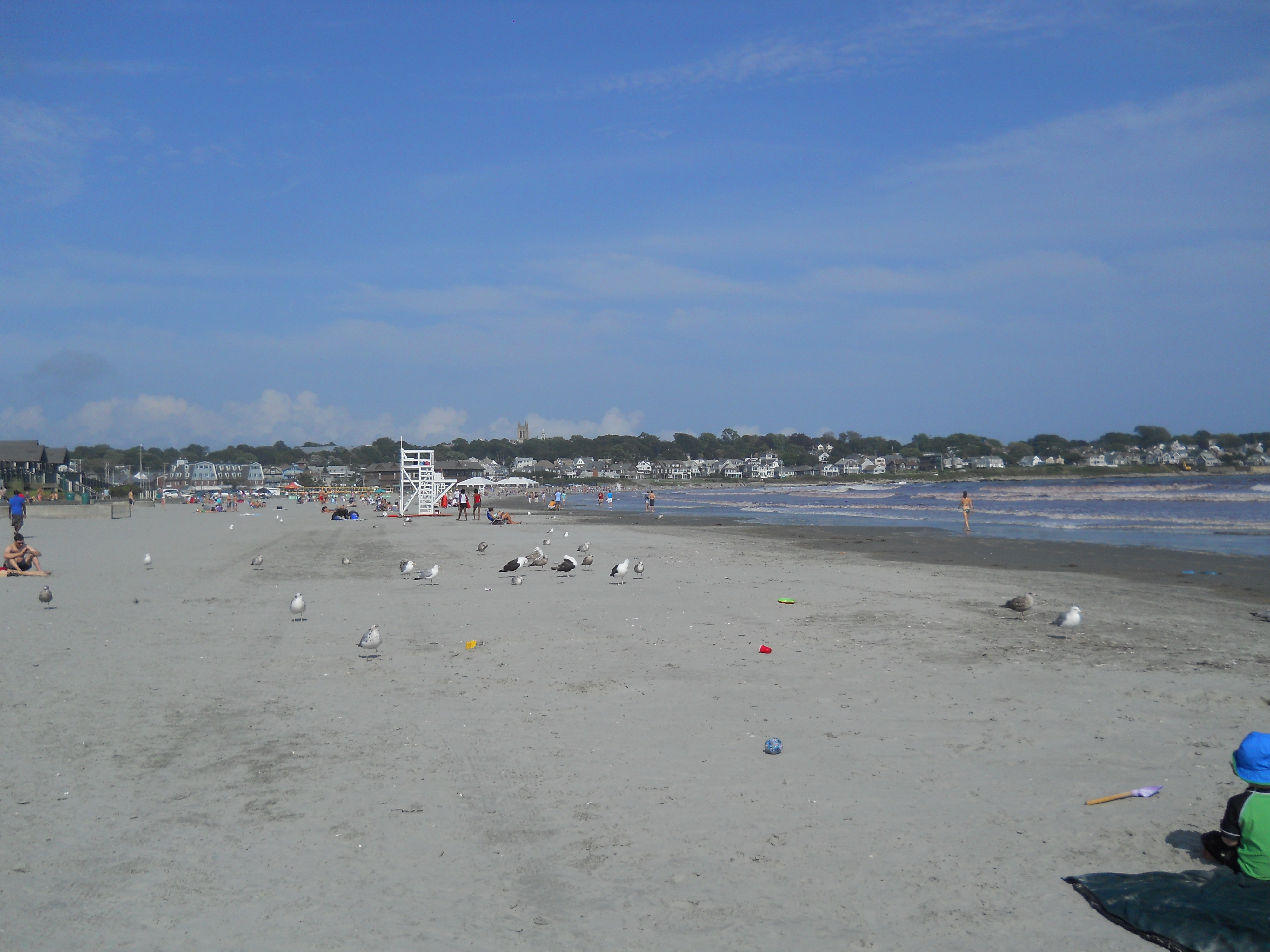 View looking towards Middletown from Easton's Beach.