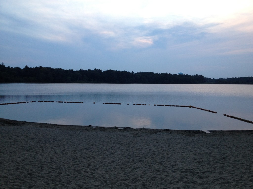 Swimming area at Watson Pond