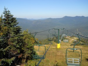 Summer view from atop Waterville Valley Ski Resort