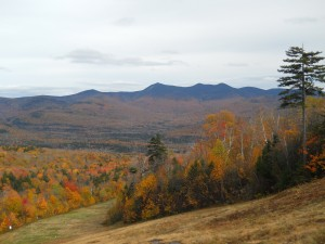 Fall Foliage in the Waterville Valley