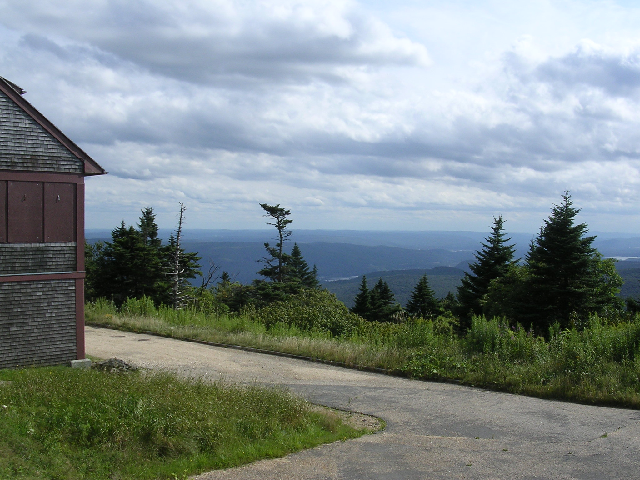 Summit view from Mt. Greylock.