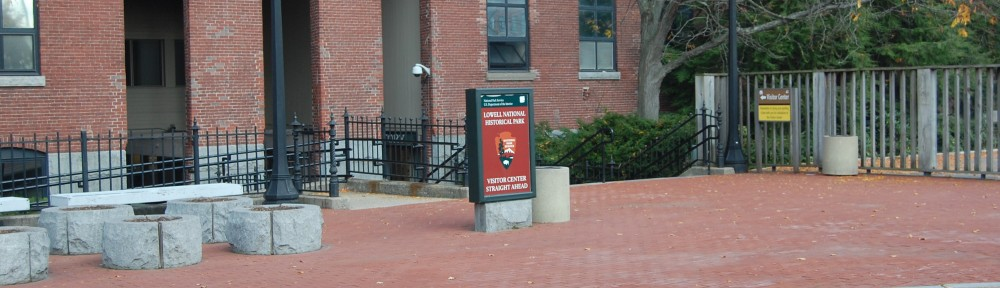 Lowell National Historic Park Visitor Center Entrance