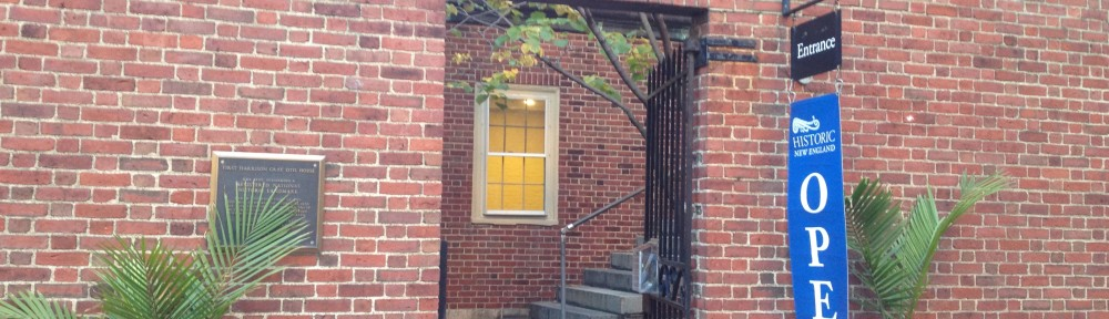 Entrance to the Otis House Museum in Boston