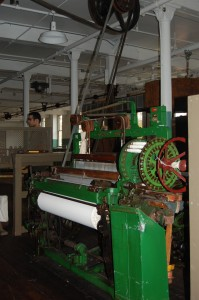 Water Powered Loom at Suffolk Mills - Lowell National Historic Park