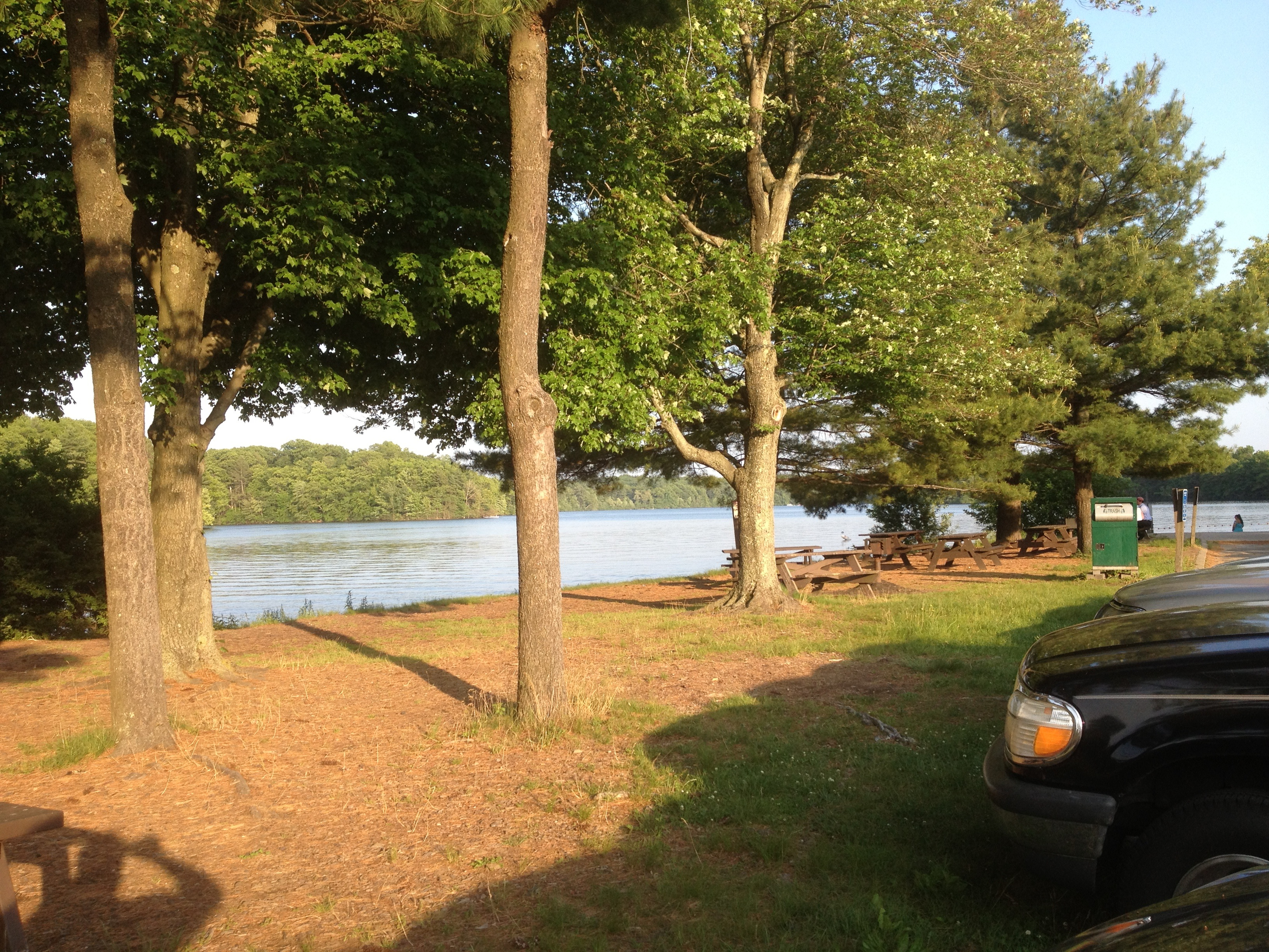 Cochituate state park natick ma take a day trip take for Ma fishing license cost