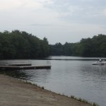 Boat Launch at Cochituate State Park.