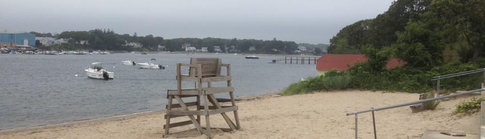 Electric Beach on Buzzards Bay