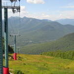 Loon Mountain Ski Slope in the summer.