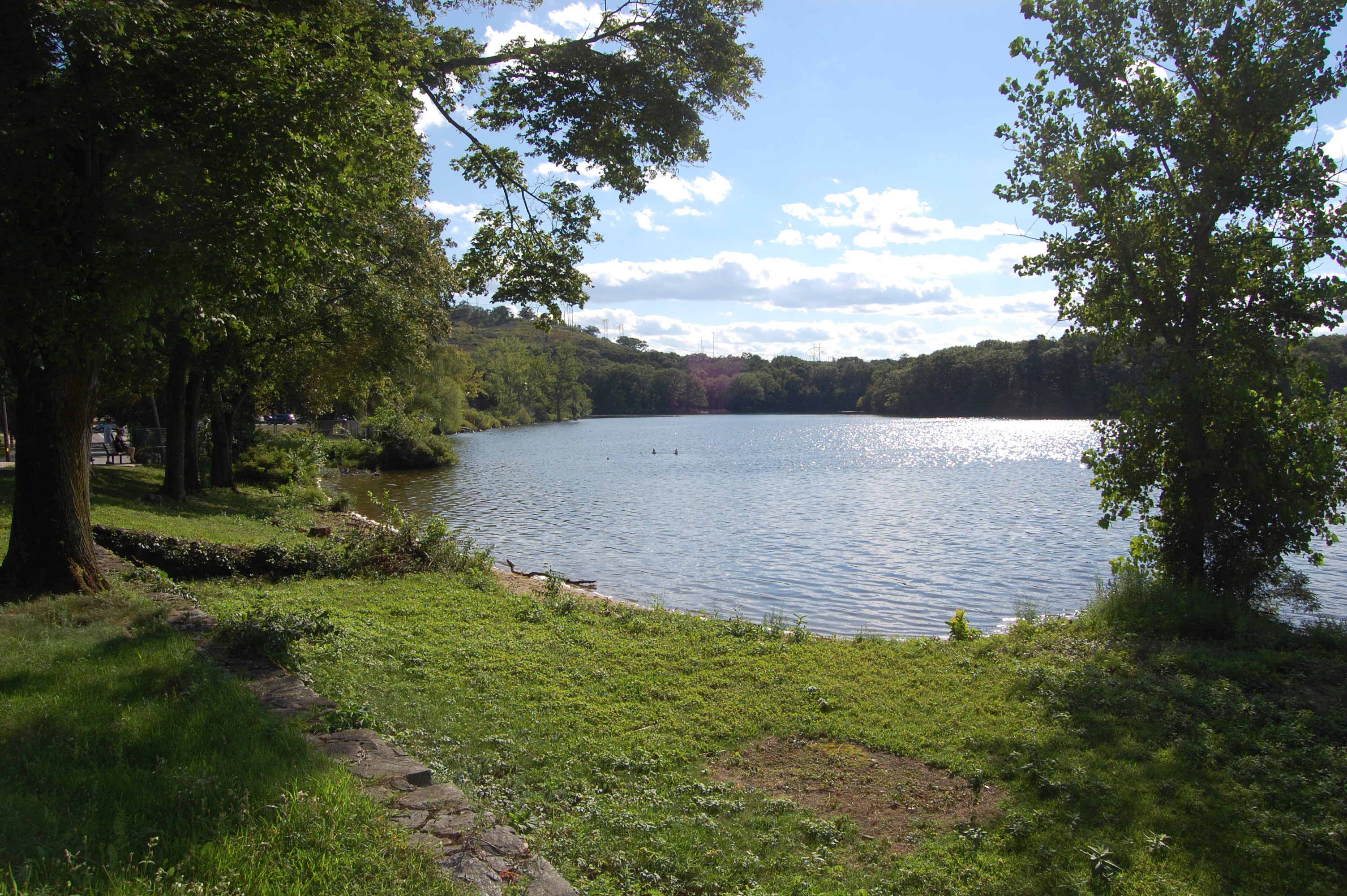 Horn Pond in Woburn, MA