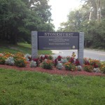 Stonehurst Entrance from Beaver St. in Waltham
