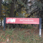 deCordova Entrance Sign
