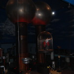 The Theater of Electricity at the Museum of Science features a huge Van der Graff generator.