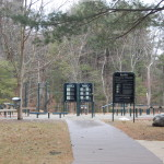 Fitness area at Breakheart Reservation.