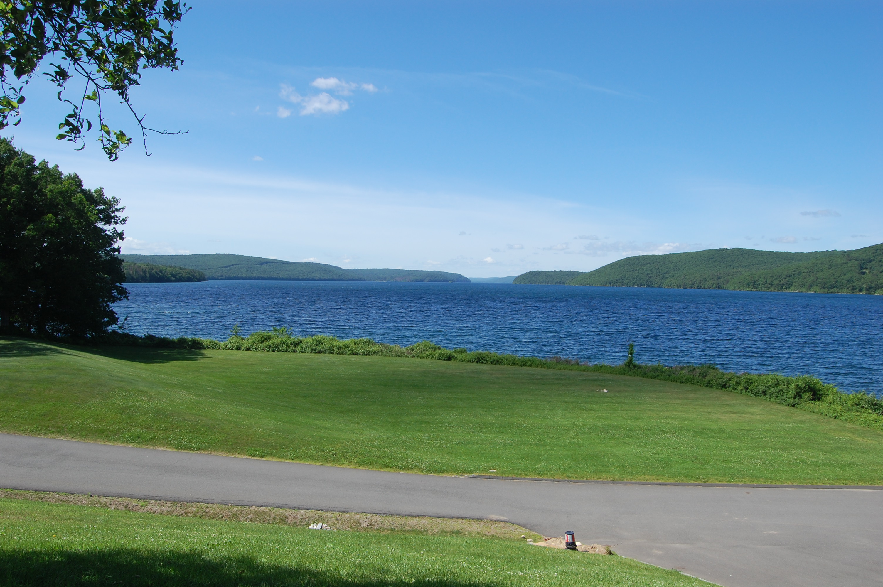 Quabbin Reservoir from the DCR Visitor Center.