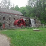 Grist Mill at the Wayside Inn of Sudbury.