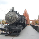Historic Locomotive in Lowell.