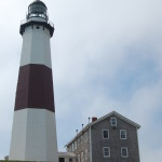 Lighthouse and Museum at Montauk Point.