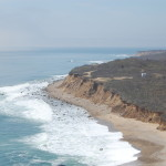 Looking westward down Long Island from the Montauk Point Lighthouse.