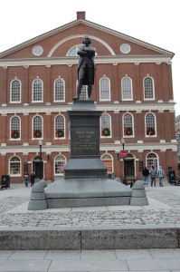 Samuel Adams Statue at the Faneuil Hall Marketplace